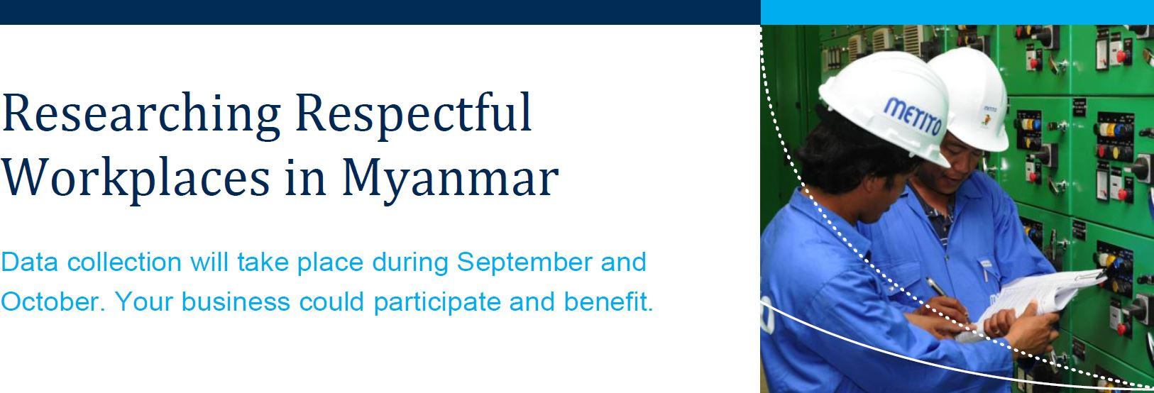 Researching Respectful Workplaces in Myanmar